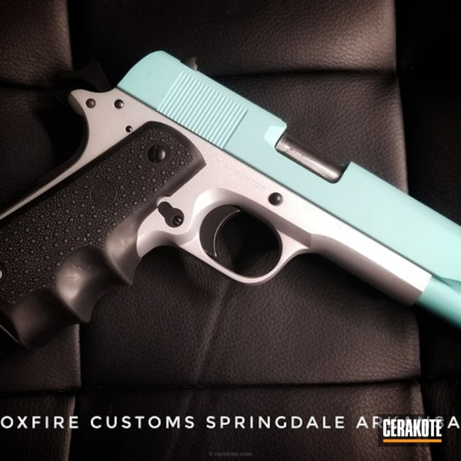 Custom Coated Rock Island Armory 1911