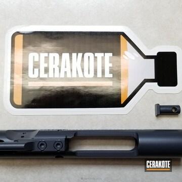 Cerakoted Bcg Done In C-110 Micro Slick Dry Film Coating