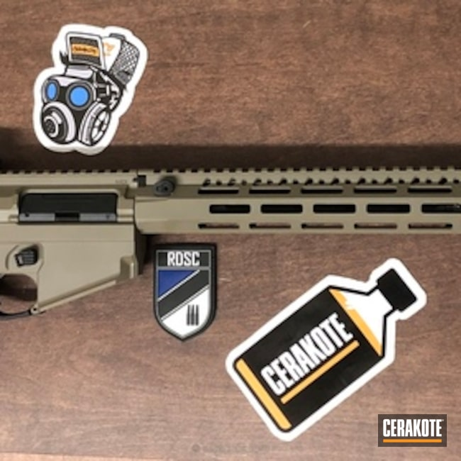 "Thumbnail image for project ""Cerakote Elite E-200 FDE on this AR-15"""