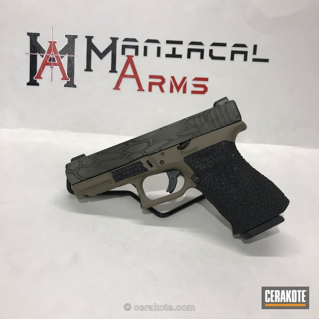 "Thumbnail image for project ""Glock 23 in a Cerakote Kryptek Finish"""