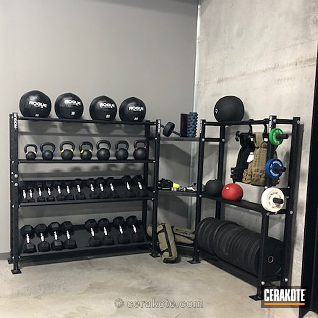Coated Gym Equipment