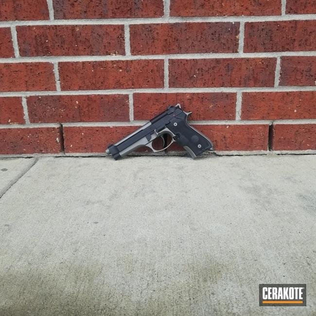 Cerakoted: Graphite Black H-146,Two Tone,Stainless H-152,Pistol,Beretta,92FS