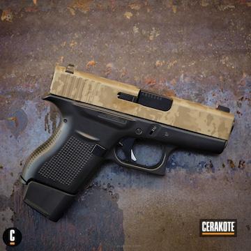 Cerakoted 3d Laser Imaged Glock With Custom Camo