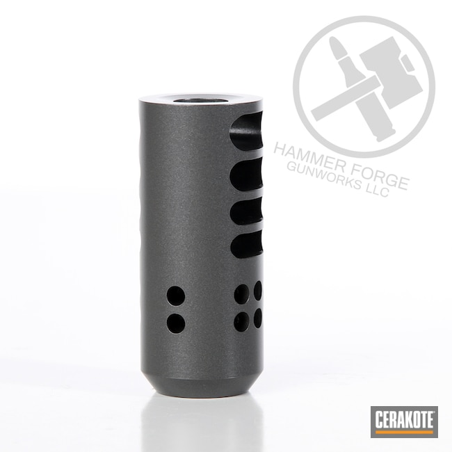 Cerakoted Rifle Muzzle Brake