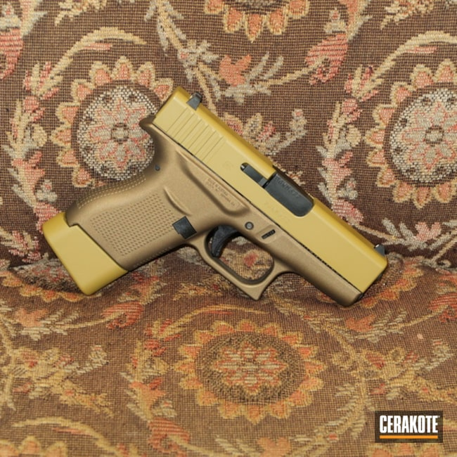 Cerakoted Two Toned Glock 43