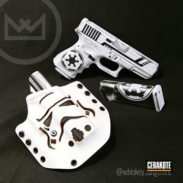 Cerakoted Glock 19c In A Cerakote Stromtrooper Themed Finish
