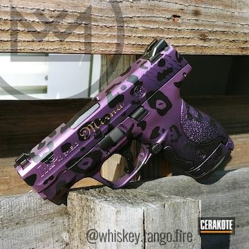 Cerakoted Leopard Print Finish On This Smith & Wesson Handgun
