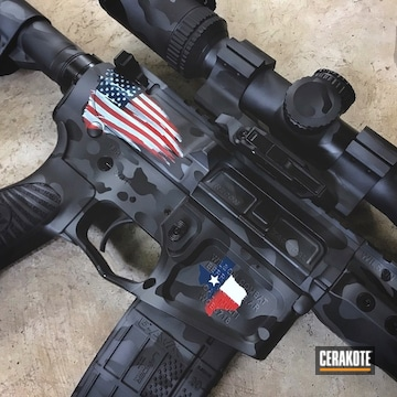 Cerakoted Custom Cerakoted Wilson Combat Tactical Rifle