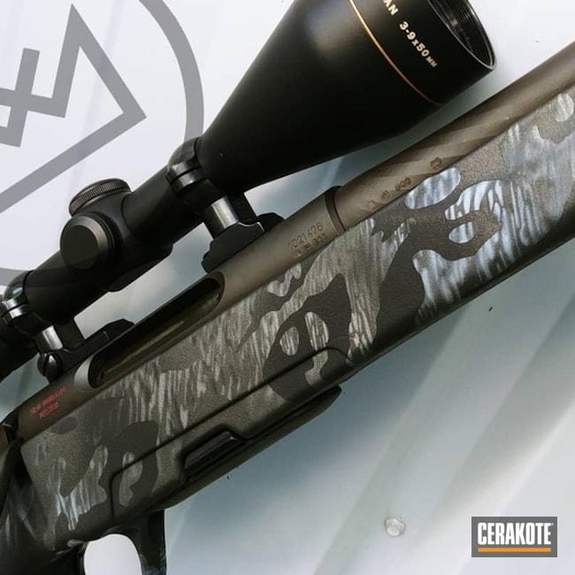 Cerakoted: Bolt Action Rifle,Texture,Snow White H-136,Graphite Black H-146,Titanium H-170,Custom Texture,Cobalt H-112