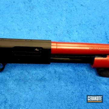 Cerakoted Two Toned Mossberg 500 Shotgun
