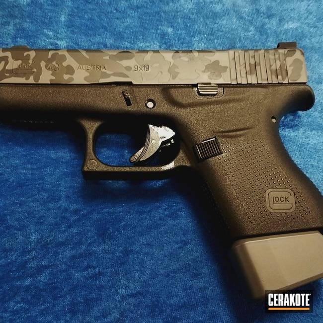 Cerakoted: MultiCam,Graphite Black H-146,Pistol,Glock,Smoke E-120,Concrete E-160,Concrete E-160G,Urban Camo,Glock 43