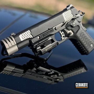 Cerakoted 1911 Handgun Done In Cerakote Gen Ii Graphite Black