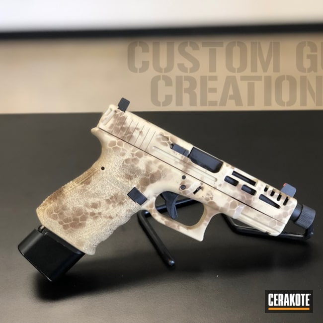 "Thumbnail image for project ""Glock 19 in a Cerakote Hybrid Camo"""