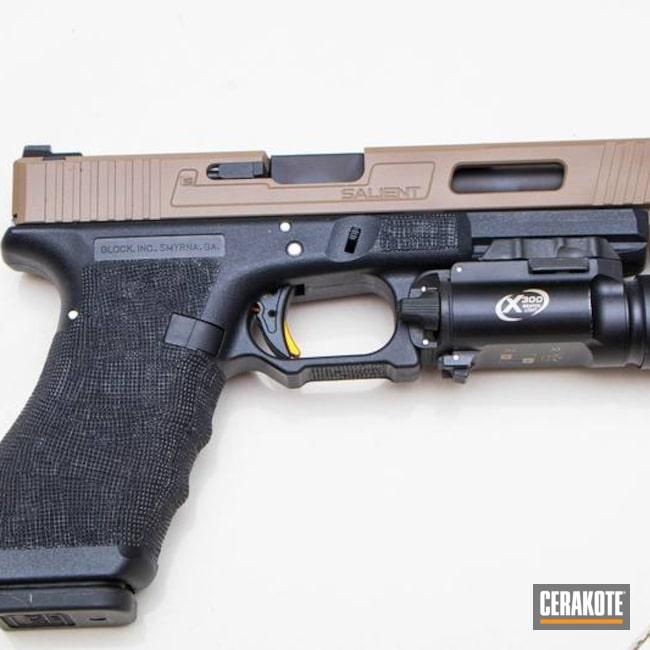 Cerakoted: Airsoft,Pistol,Salient Arms,Flat Dark Earth H-265