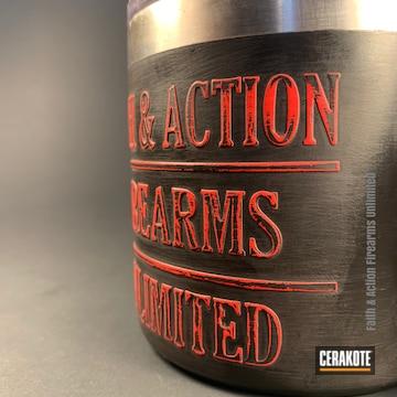 Cerakoted Custom Embossed Yeti Cup