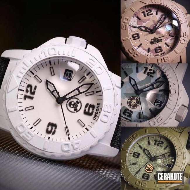 Custom Cerakoted Watches