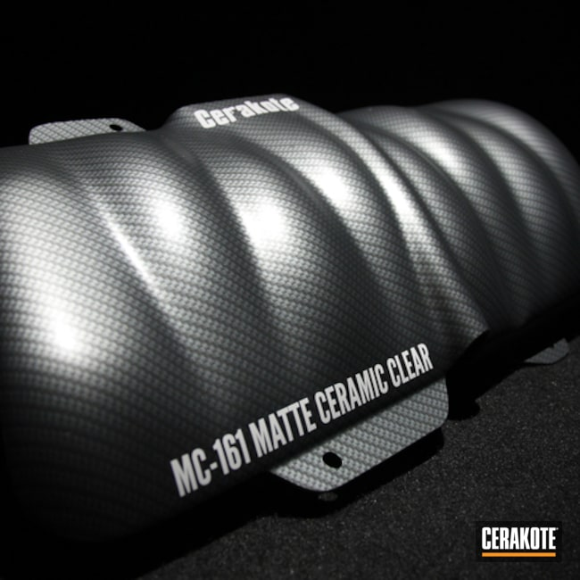 Cerakoted: MATTE CERAMIC CLEAR MC-161,More Than Guns