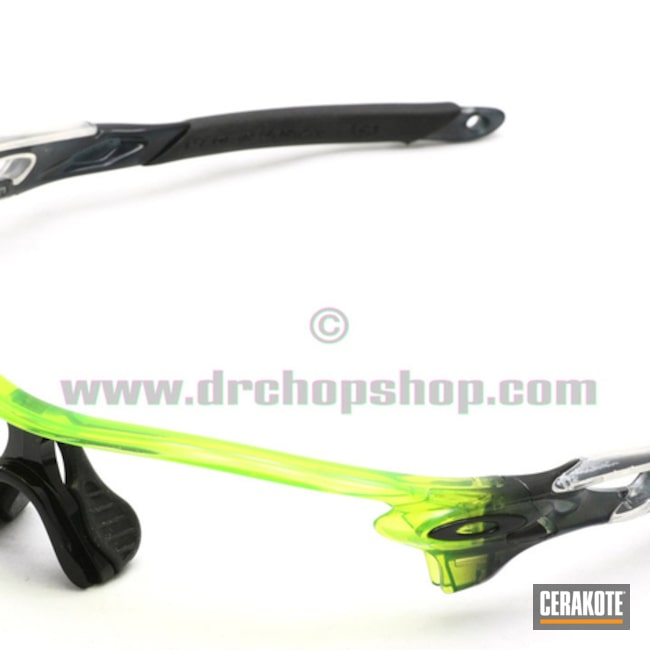 Clear Coated Oakley Sunglasses Frames