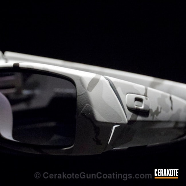 Cerakoted Matte Clear Coated Oakley Sunglasses
