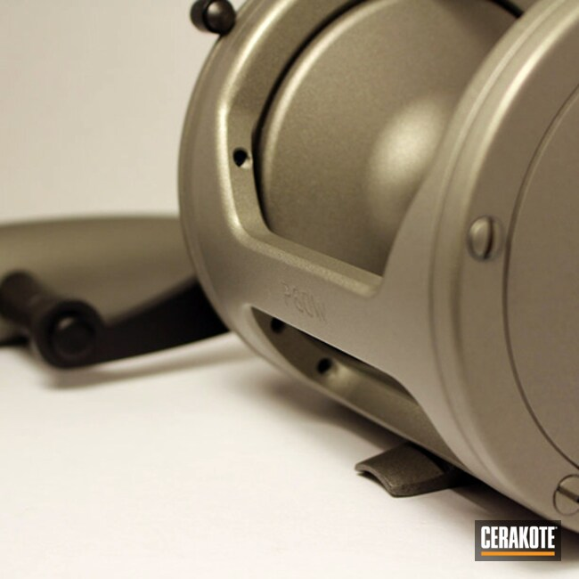 Cerakoted: Fishing,MATTE ARMOR CLEAR H-301,More Than Guns,Fishing Reel