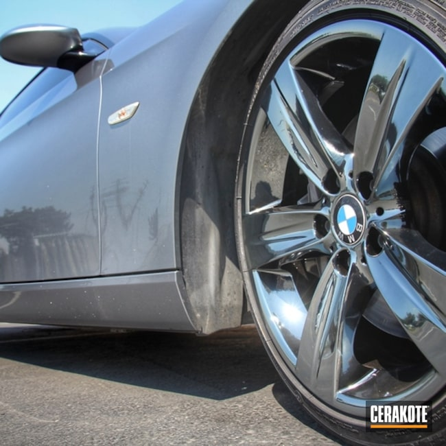Cerakoted: BMW,HIGH GLOSS CERAMIC CLEAR MC-160,More Than Guns,Automotive,Wheels