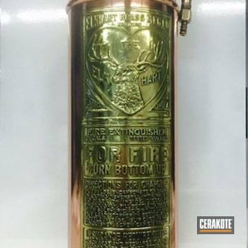 Cerakoted Antique Fire Extinguisher