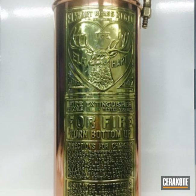 Cerakoted: HIGH GLOSS CERAMIC CLEAR MC-160,Antique,More Than Guns,Fire Extinguisher