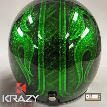 Cerakoted Custom Motorcycle Helmet