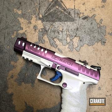 Cerakoted Custom Coated Walther Q5 Match Handgun