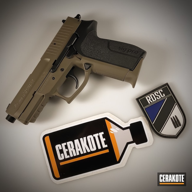 "Thumbnail image for project ""Two Tone Cerakote E-100 Blackout and E-200 FDE"""