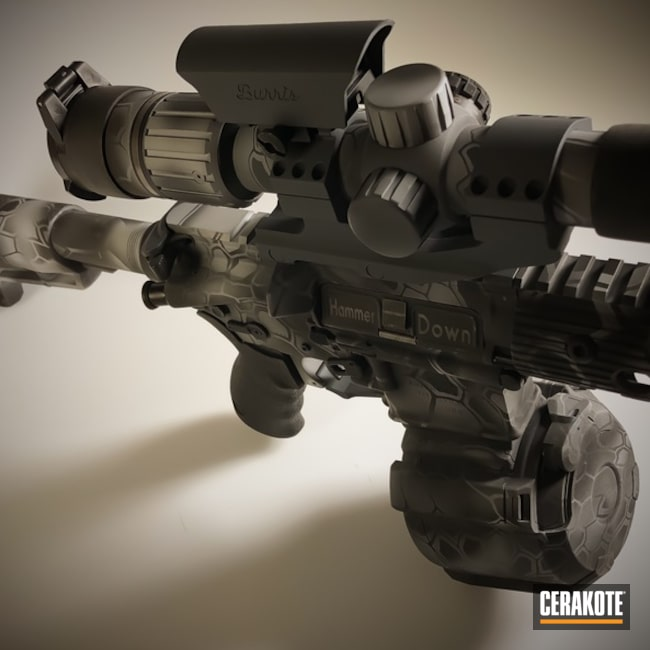 "Thumbnail image for project ""Tactical Rifle in a Cerakote Kryptek Finish"""