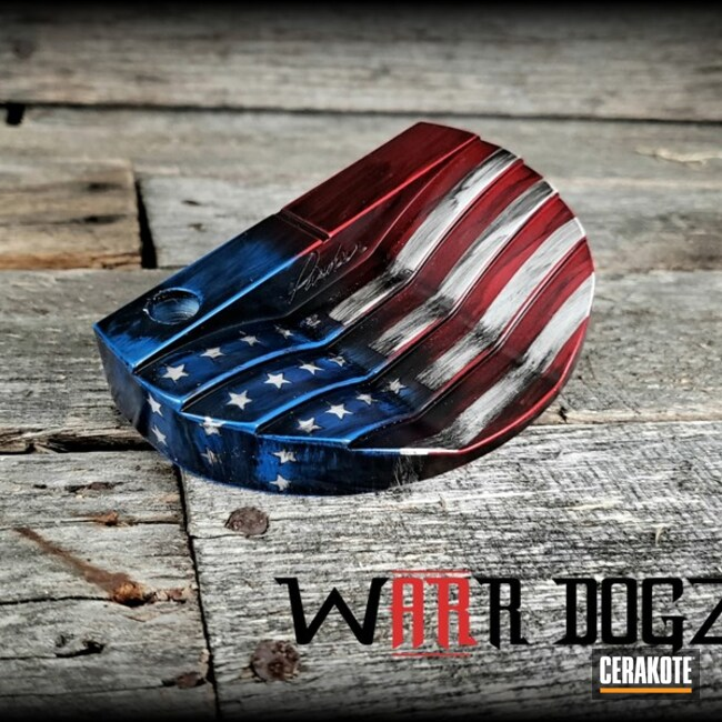 American Flag Coated Golf Wedge