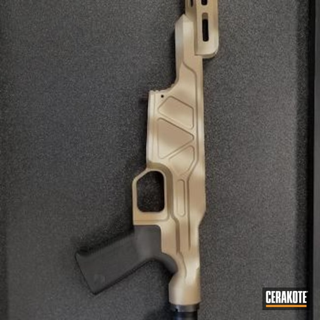 Custom Cerakoted Howa Rifle Chassis