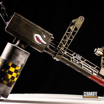 Cerakoted Custom Cerakoted Flame Thrower