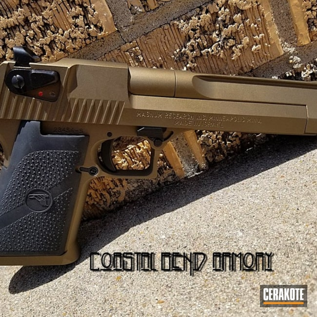 "Thumbnail image for project ""IWI Desert Eagle Handgun in Cerakote H-146 and H-148"""