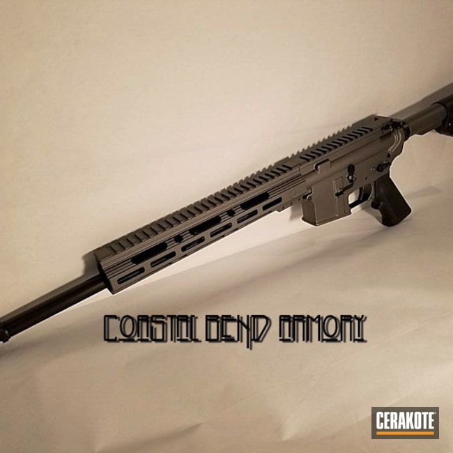 Mobile-friendly version of the 5th project picture. Graphite Black H-146Q, AR-15, Tactical Rifle, Tungsten H-237Q