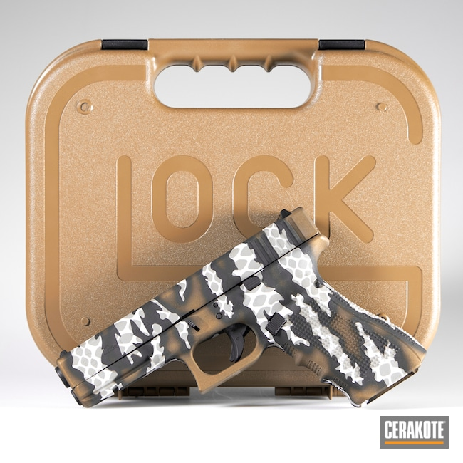 "Thumbnail image for project ""Cerakote Riptile Camo on this Glock 22"""