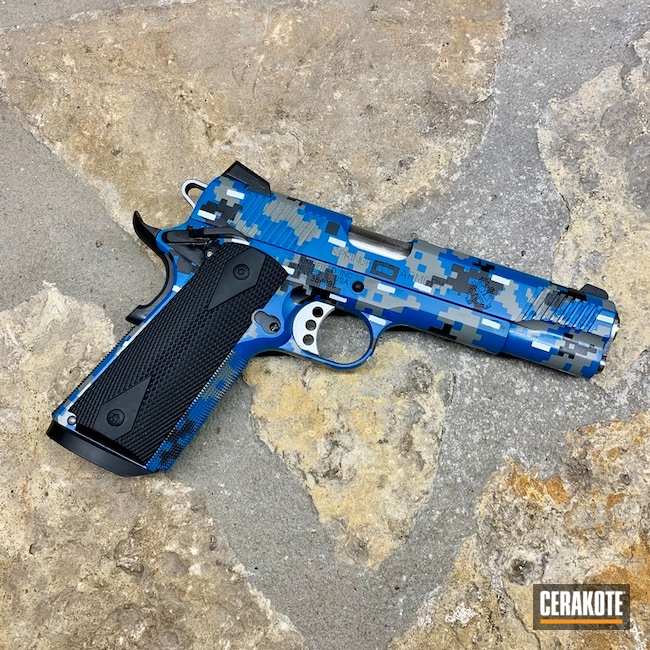 "Thumbnail image for project ""Cerakote Digital Camo"""