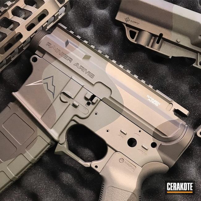 Cerakoted Rainier Arms In A Custom Cerakote Finish