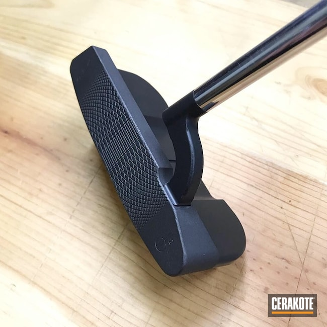 Two Toned Cerakoted Golf Putter
