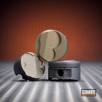 Cerakoted C-110 Micro Slick And C-186 Piston Coat