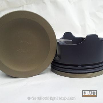Cerakoted C-186 Piston Coat With C-110 Micro Slick Dry Film Coating