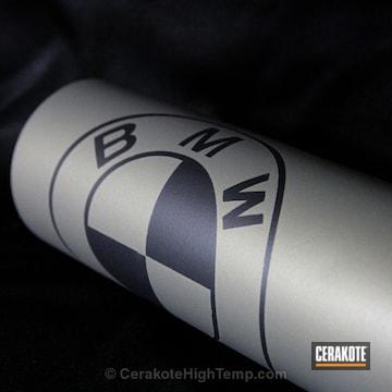 Cerakoted C-7300 Black Velvet With C-186 Piston Coat