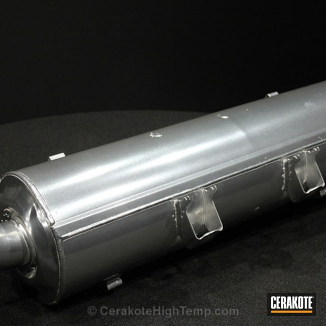 Cerakoted: Exhaust,Automotive,High Temperature Coating,GLACIER CHROME - Oven Cure W-400
