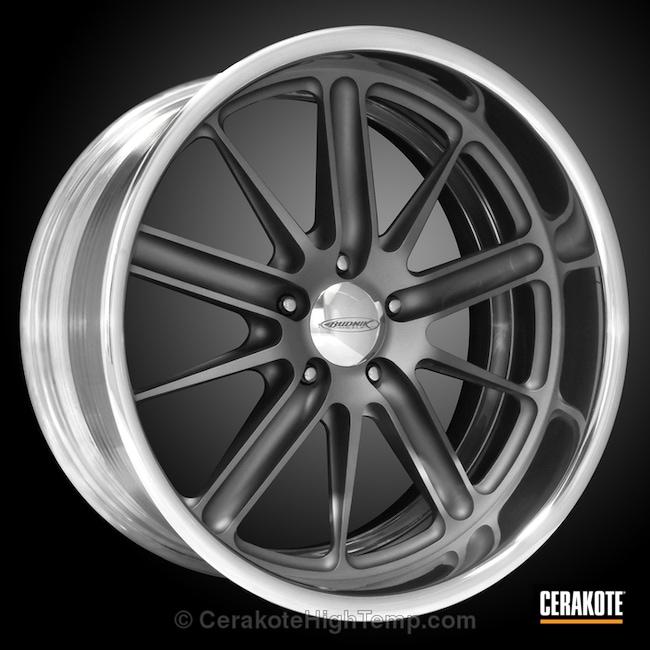 Cerakoted: Custom,TUNGSTEN C-111,Automotive,Wheels