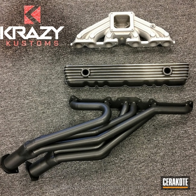 "Thumbnail image for project ""C-7600 Cerakote Glacier Black and Cerakote Glacier Silver"""