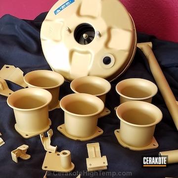 Cerakoted Porsche Engine Parts