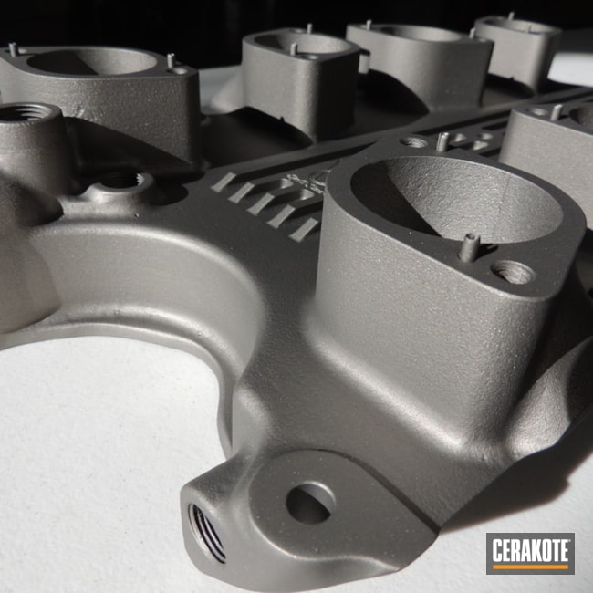 Cerakoted: Intake Manifold,Gun Metal Grey H-219,More Than Guns,Intake,Automotive