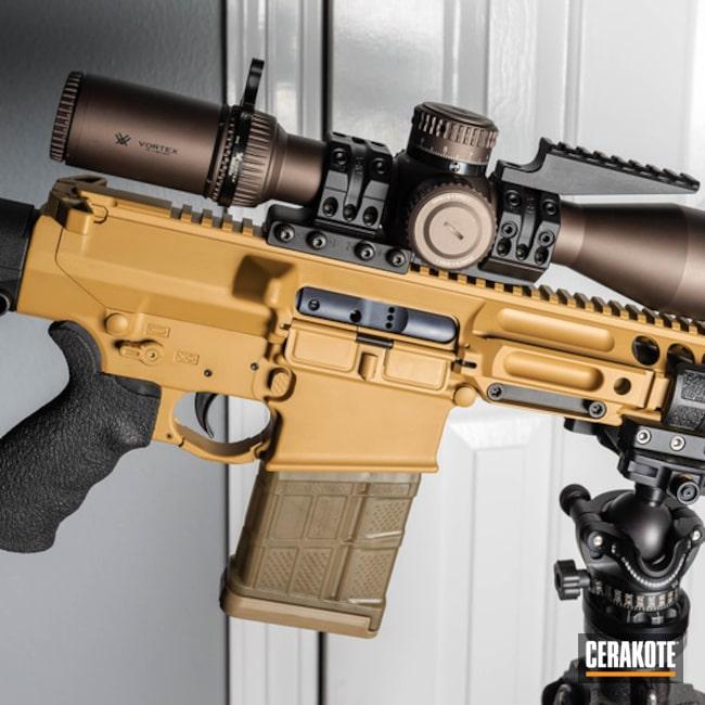 Cerakoted: Micro Slick,Ral 8000 H-8000,Tactical Rifle