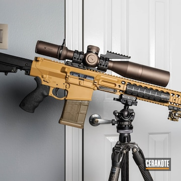 Cerakoted Rifle In Cerakote Ral 8000